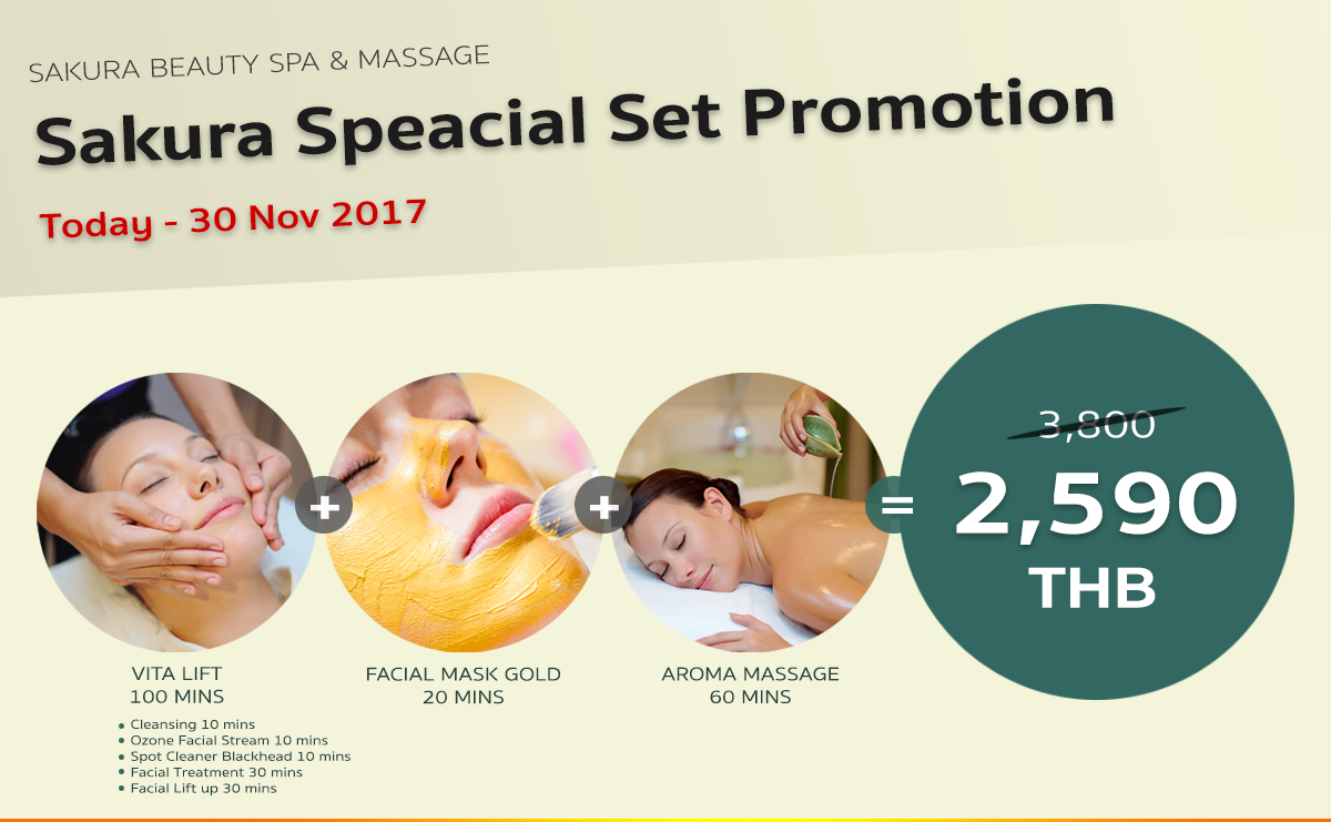 Promotion Vita Lift + Aroma Massage