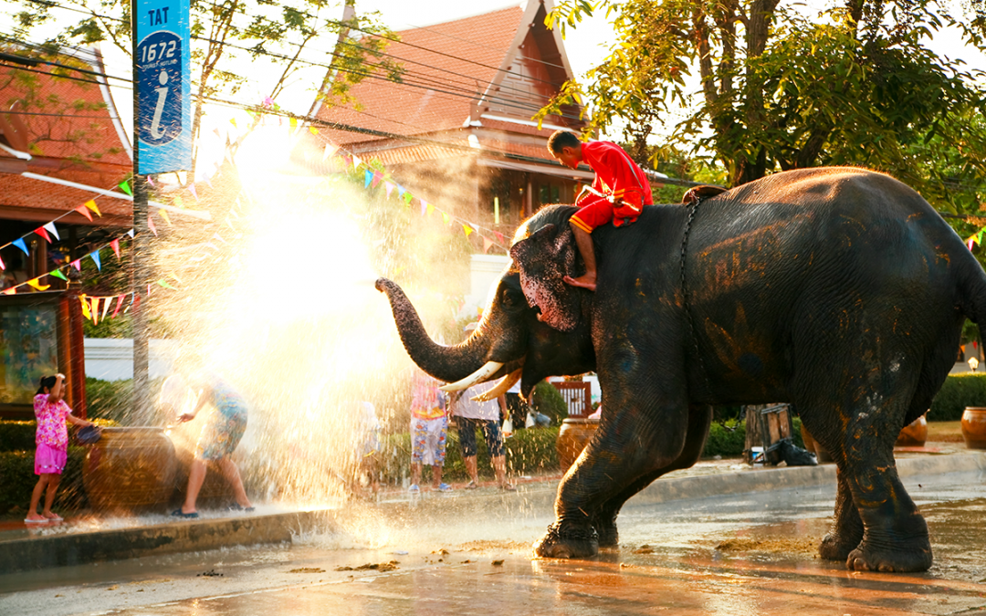 How to have fun at Songkhran and not dry out your skin