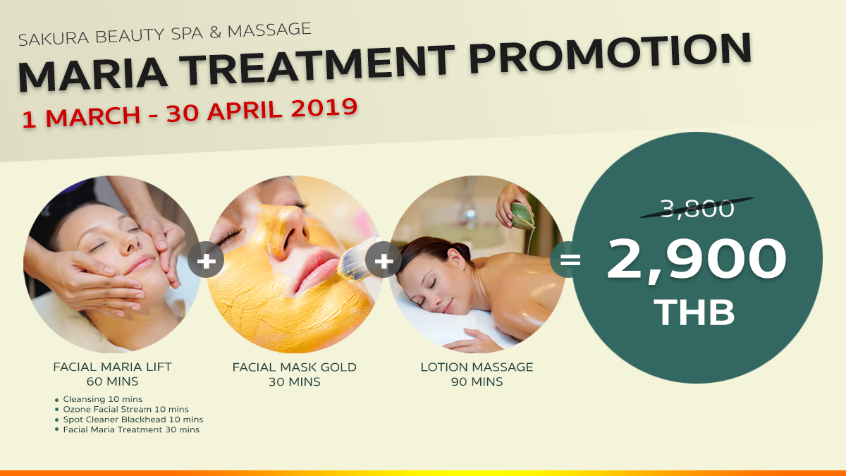 Maria Treatment Promotion