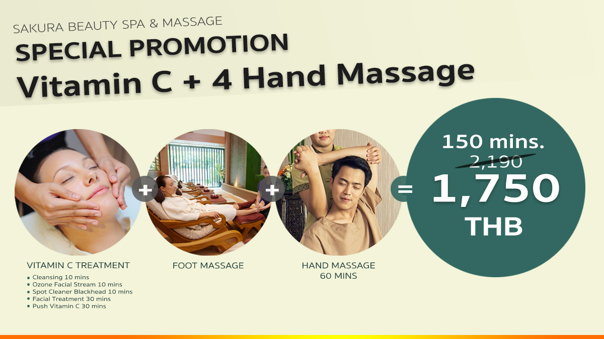 Facial Vitamin C + 4 Hand Massage